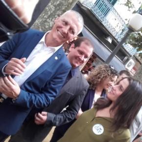 """Jean Castel i Alfonso Sánchez: """"Cal solucionar els problemes de la gent i per això plantegem acords per sortir del bloqueig partitocràtic on som"""""""