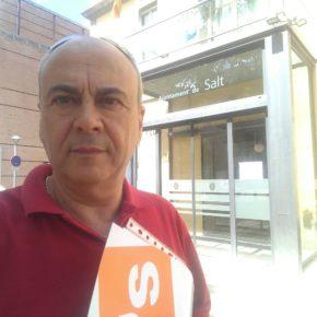 """Cs Salt acusa el govern municipal de """"deixadesa"""" i li reclama l'elaboració del pla de seguretat al qual es va comprometre"""