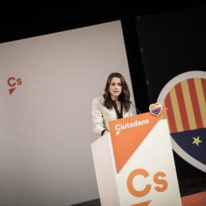 """Arrimadas: """"Puigdemont ha estat el president del 'procés'; Jo vull ser la presidenta de tots els catalans"""""""