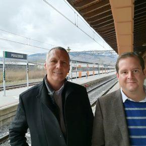 """Jean Castel (Cs): """"Volem que Puigcerdà tingui més trens amb major freqüència de pas, menys retards i més fiables"""""""