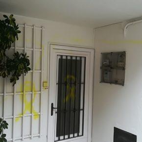 Ciutadans condemna els atacs a la casa d'un inscrit de Cs per part d'un grup separatista