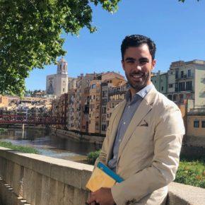 """Pamplona (Cs): """"Construirem un eix comercial a la carretera Barcelona i enjardinarem la llera del riu Onyar fins a plaça Catalunya"""""""
