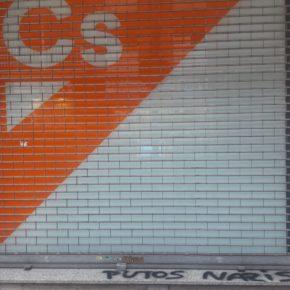 Ciutadans condemna l'atac patit contra la seva seu de Girona