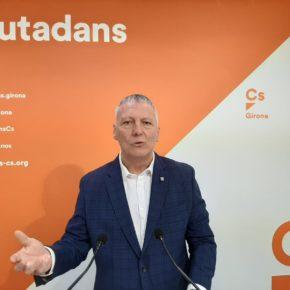 """Castel: """"Un cop més ens trobem que aquest 9'9% d'inversió del pressupost a comarques gironines no dona sortida a moltes demandes i urgències"""""""