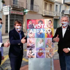 Ciutadans denuncia davant la Junta Electoral la desobediència de l'alcalde de Vidreres per incomplir la resolució que l'obligava a retirar la propaganda separatista